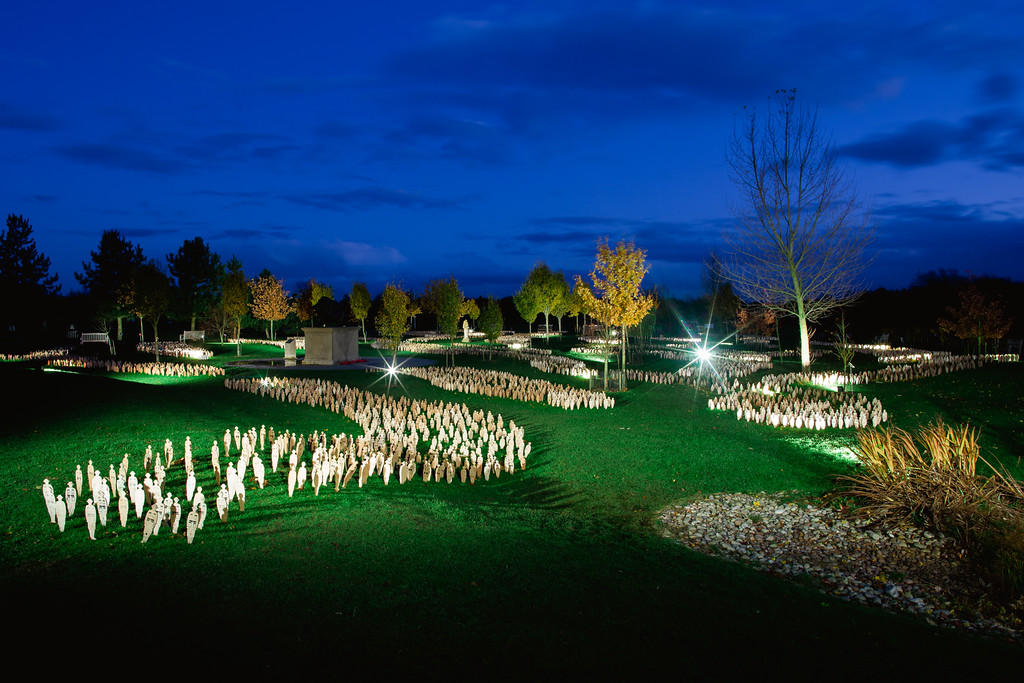 National Memorial Arboretum - En Masse 01